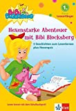 Bibi Blocksberg - Hexenstarke Abenteuer mit Bibi Blocksberg: 3 Geschichten zum Lesenlernen Leseanfänger 1. Klasse ab 6 Jahren