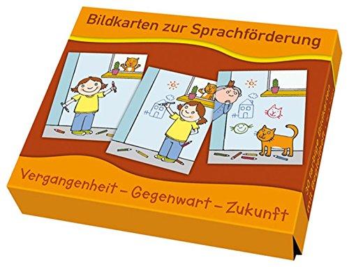 Vergangenheit - Gegenwart - Zukunft (Bildkarten zur Sprachförderung)