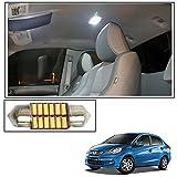 #7: Vheelocityin 12 LED Roof Light Car Dome Light Reading Light For Honda Amaze