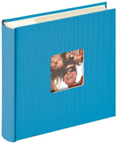 walther design ME-110-U Fun Memo-Album, oceanblau, 200 Fotos, 10 x 15 cm