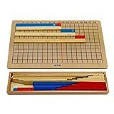 KESOTO Holz Montessori Mathematik Material Addition Subtraktion Rechnen Mathe Spielzeug Lernspiel