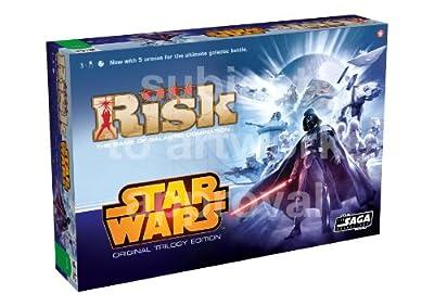 Risk - Juego de tablero Star Wars, de 2 a 6 jugadores (Winning Moves 20602) [importado de Inglaterra] de Winning Moves