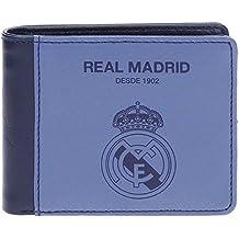 Real Madrid Blue RM Tarjetero, 10 cm, 0.09 litros, Morado