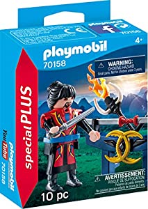 Playmobil 70158 Special Plus Asia Guerrero, Multicolor