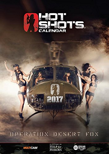 Hot Shots Calendrier 2017, noir