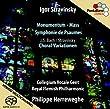 Monumentum/Mass/Psalmensinfonie