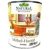 Natural Möbel-Hartöl farblos, 2,5 Liter