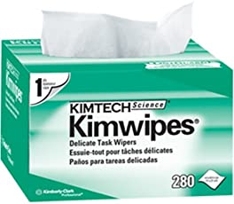 Kimtech Science Kimwipes Wipers (280 Wipes, Pack of 60)