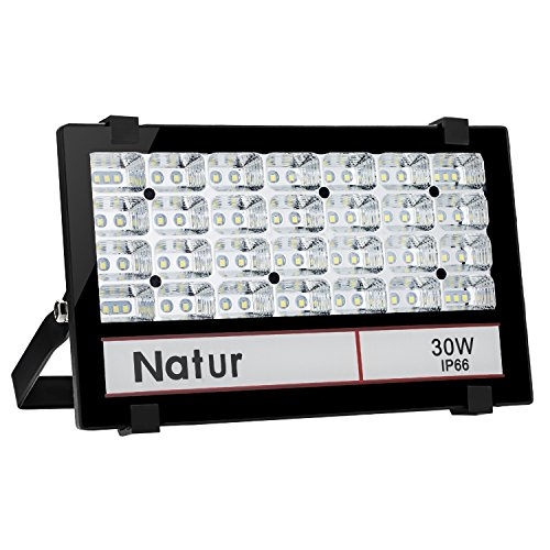 30W Foco LED Exterior Proyector,3000LM 6000K Blanco frío ,Impermeable IP66 Foco Reflector...