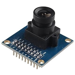 HALJIA VGA OV7670 300KP 0.3 Megapixels CMOS Sensor Camera Module Lens CMOS 640X480 SCCB Compatible W/ I2C Interface for Arduino