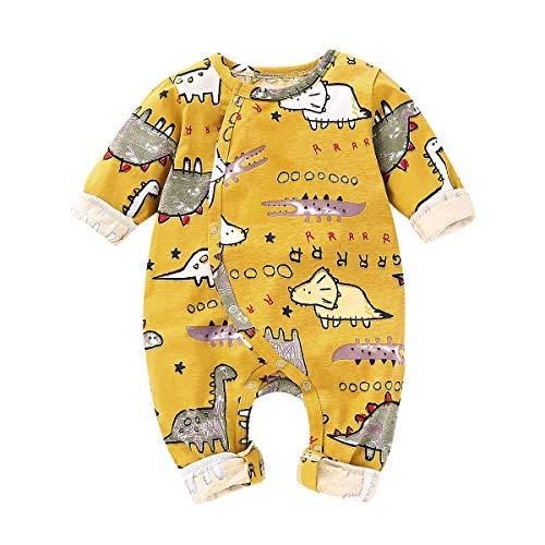 Print Strampler - niedliche Dinosaurier Kostüm Overall Bodysuit Playsuit Neugeborene Kleidung (Color : 0M-3M) ()