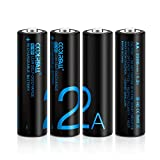 Best Batteries rechargeables - AA Piles Rechargeables,coolreall Lot de 4 Ni-MH 2200 Review