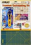 Olfa Rty-St/Cg Kit de patchwork avec cutter rotatif, règle et fond de découpe