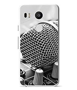 FUSON Designer Back Case Cover for LG Nexus 5X :: LG Google Nexus 5X New (Art Classic Guitar Hobby Instrument )