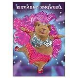 Showgirl Birthday Sound Bites Musical Cards