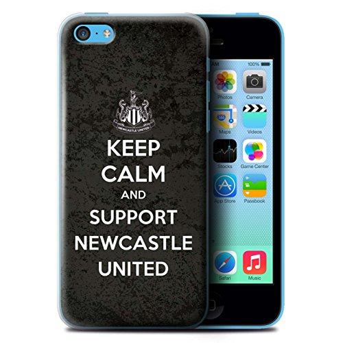 Offiziell Newcastle United FC Hülle / Case für Apple iPhone 5C / Pack 7pcs Muster / NUFC Keep Calm Kollektion Unterstützung