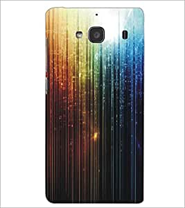 XIAOMI REDMI 2S LINES PATTERN Designer Back Cover Case By PRINTSWAG