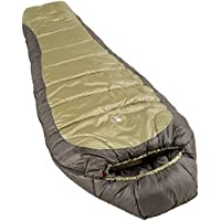 Coleman  North Rim Unisex Outdoor Sleeping Bag available in Olive Green/Black - 208 cm