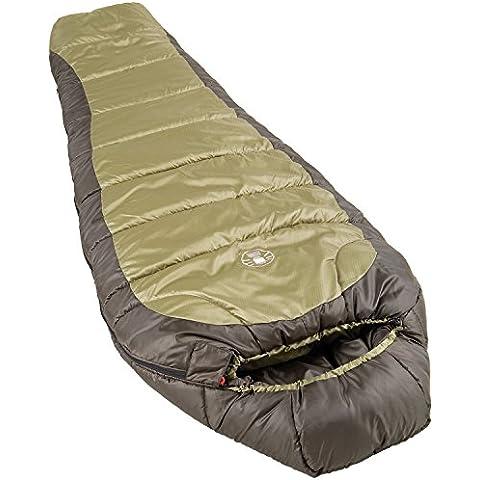 Coleman North Rim - Saco de dormir, color verde