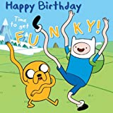 Adventure Time Geburtstagskarte