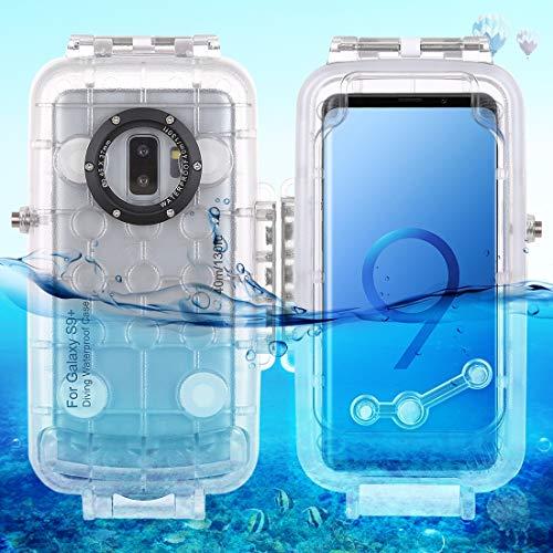 454a39aea5c90 HOUSSEDEPLONGE Boîtier étanche pour Smartphone HAWEEL Etui de plongée étanche  Samsung Galaxy S9 + PC +