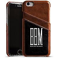 Apple iPhone 6s Lederhülle maroon Leder Case Leder Handyhülle Bbm Bikini Bottom Mafia Spongebozz