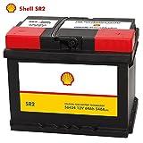 Shell Autobatterie 12V 64Ah SR2 ersetzt 60AH 61AH 62AH 63AH 65AH