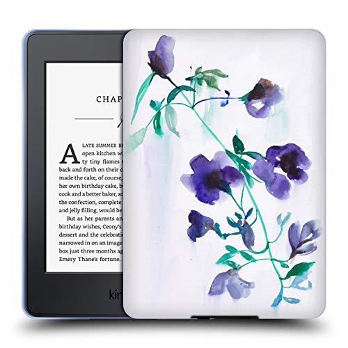 Head Case Designs Offizielle Mai Autumn Mond Tropfen Bluete Blumig Soft Gel Hülle für Amazon Kindle Paperwhite 3 - Mond Blüten