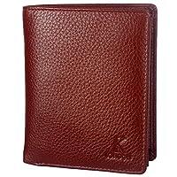 K London Brown Real Leather Note Case Men's Wallet Gents Wallet (201_brn)