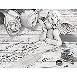 Tapisserie Photo Ange 352 x 250 cm Laine papier peint Salon Chambre Bureau Couloir décoration Peinture murale décor mural moderne - 100% FABRIQUÉ EN ALLEMAGNE - 9228011c