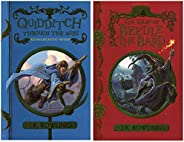 Quidditch Through the Ages + The Tales of Beedle the Bard (Set of 2 books)