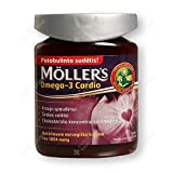 Nordic MÖLLER'S OMEGA-3 card, 76 capsules, Blood pressure, Cardiac activity, Cholesterol levels.
