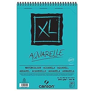 CANSON Skizzen- und Studienblock XL Aquarelle, DIN A4 VE = 1