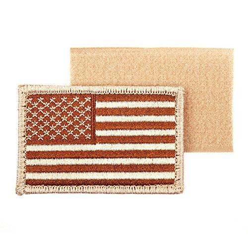 USA Desert Flag Amerika FLAGGE Fahne Wüsten Aufnäher Uni - Aufnäher Patch Navy Seals USAF Ranger ISAF Irak Desert Storm #17402 (Usaf-flagge)
