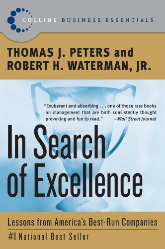 Image result for in search of excellence