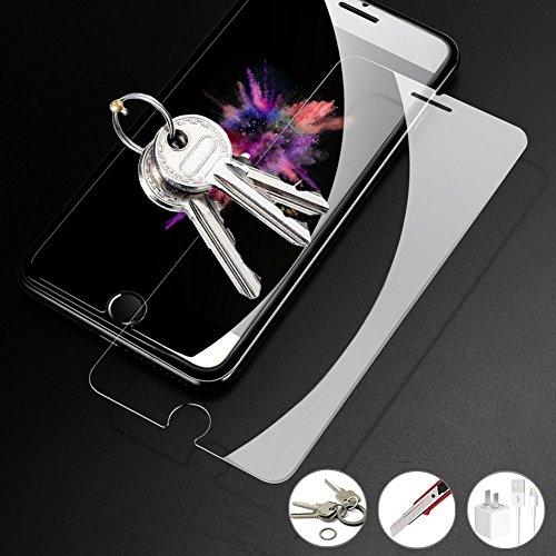 confronta il prezzo [3 Pack] Pellicola Vetro Temperato iPhone 7 / iPhone 8, AimeCerises Pellicola Protettiva per iPhone 7 / 8 / 6 / 6S, Durezza 9H Ultra Resistente, HD Alta Trasparente, 3D Toccare Compatibile (4,7 Pollici) miglior prezzo