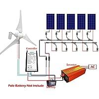 ECO-WORTHY 900W Pannello Solare e Kit di ricarica batteria: 400W