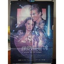 Original Spanish Movie Poster Star Wars Episode II Attack Of The Clone Episodio 2 El Ataque De Los Clones Natalie Portman