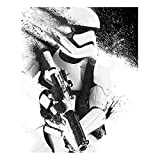 Poster Star Wars Episode VII - Stormtrooper Paint - preiswertes Plakat, XXL Wandposter