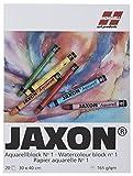 Jaxon 15465 Aquarellblock, 165 g/m², 30 x 40 cm, 20 Blatt
