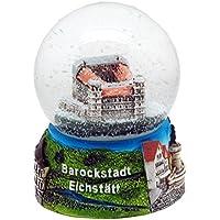 30030 Souvenir palla di neve Eichstätt Villibaldo Burg 65 mm di diametro
