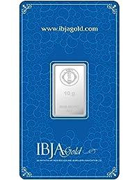 IBJA Gold Investment 10 gm Silver Coin Frames for Women (IG10GMS999INVBR073)