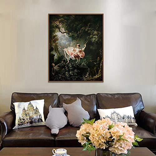 Adgkitb canvas 60x90cm SIN Marco The Swing-Fragonard