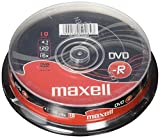 Spindle de 10 DVD-R Maxell