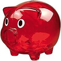 Sparschwein / Farbe: transparent rot preisvergleich bei kinderzimmerdekopreise.eu