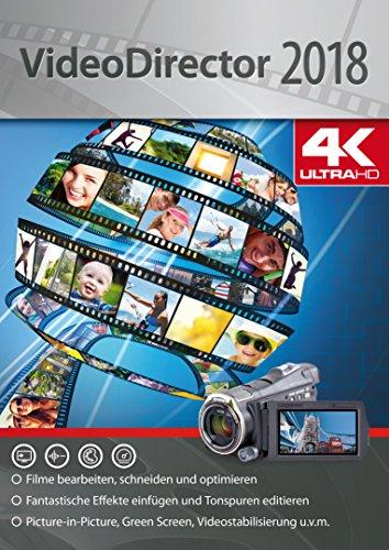 VideoDirector 2018 - Videos bearbeiten, schneiden, optimieren für beeindruckende Videos