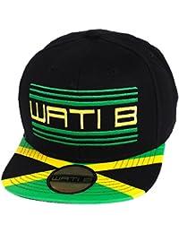 Wati b - Flashship jamaique jr - Casquette américaine - Noir - Taille Unique