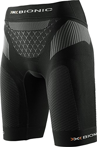 X-Bionic Damen Running Lady Twyce OW Pants SS17 Shorts, Black/Anthracite, M