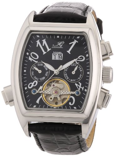 Ingraham Men's Automatic Watch Tanger IG TANG.1.200107 with Leather Strap