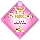 Couronne Princesse Lana Signe Pour Voiture Enfant/Bébé à Bord